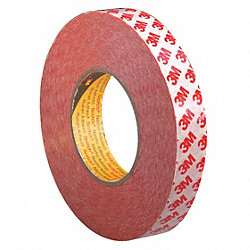 Double Sided Tape, 1 In x 55 yd., Clear