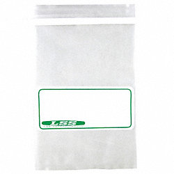 Sample Bag, Write-On, 24 Oz, PK 500