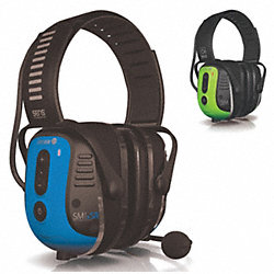 Electronic Ear Muff, Over-the-Head