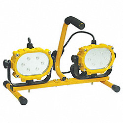 PortableLight, LED, Twin, 32W, 120V