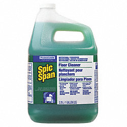 Floor Cleaner, Green, 1 gal., PK3