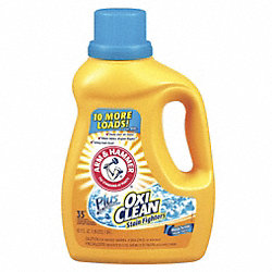 Liquid Laundry Detergent, 61.25 oz., PK 6