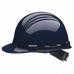 Hard Hat, FrtBrim, Slotted, 6Ratchet, Navy