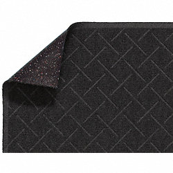 Entry Mat, Antistatic, PET Poly, Blk, 3x4ft