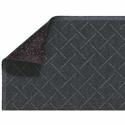 Entry Mat, Antistatic, PET Poly, Gry, 4x16ft