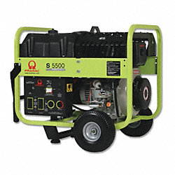Portable Generator, Rated Watts5000, 435cc