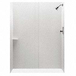 Tub/Shower Boxed Wall Set, 60x30x72 In