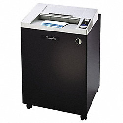 Paper Shredder, Micro-Cut, 44 gal., Gray