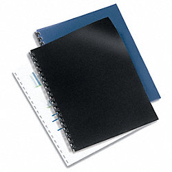 Presentation Covers, Blk, 11 x 8-1/2, PK50