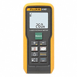 Laser Distance Meter, Up To 260 ft