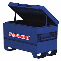 Jobsite Chest, 42 x 20 x 23-3/4 In, Blue