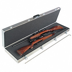 Gun Case, Two LG Scoped Rifles
