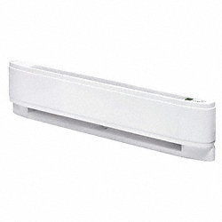 Baseboard Electric Heater, 2500W, 208V
