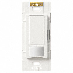 Vacancy Sensor Switch, 3-Way, White