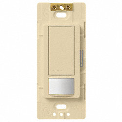 Vacancy Sensor Switch, 3-Way, Ivory
