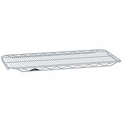 Wire Shelf, 18x36, Zinc, PK4