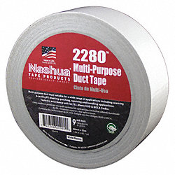 Duct Tape, 48mm x 55m, 9 mil, White