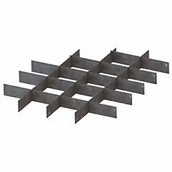 Divider Set, Galv, For 26X199, 26X204, 8 Pc