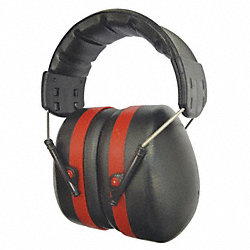 Ear Muffs, Red/Black, 30dB