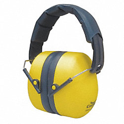 Ear Muffs, Foldable, Yellow, 25dB