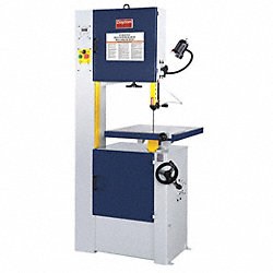 Vertical Band Saw, Dry, 115/230V, 1-1/2 HP