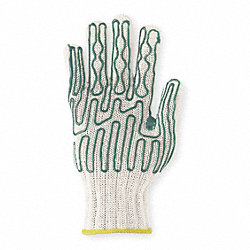 Cut Resistant Glove, Left Hand, S