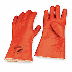 Cold Protection Gloves, PVC, L, Tan, PR