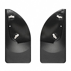 Rear Mud Flaps, Black