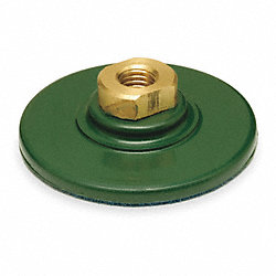Back Plate Disc, Rubber, 4 In, 5/8-11