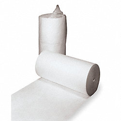 Absorbent Roll, White, 70 gal., 38 In. W