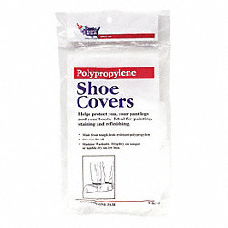 Shoe Covers, Universal, White, PR