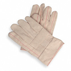 Hot Mill Gloves, White, Men's L, PR