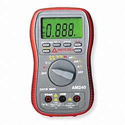 Compact Digital Multimeter, 600V