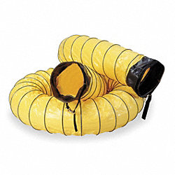 Ventilation Kit, 15 ft., Yellow