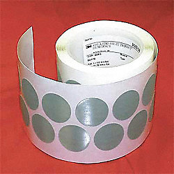 PSA Disc Roll, NoHole, 1-1/4 In, A5G, SC, PK4