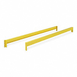 Pallet Rack Beam, 96 Lx3 In H, Yellow, PK2