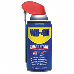 Lubricant, Aerosol w/Smart Straw, 8 oz