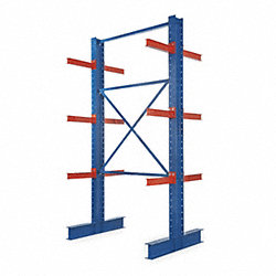 Starter I-Beam Cantilever Rack, 12 ft. H