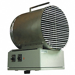 Electric Washdown Heater, 11200 BtuH, 480V