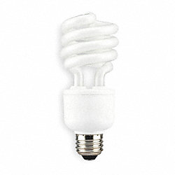 Screw-In CFL, 20W, T2, Medium