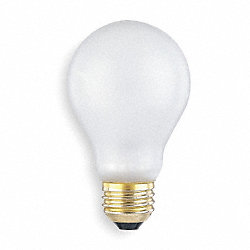 Incandescent Light Bulb, A19, 75W, PK6