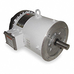 Washdown Motor, 3 Ph, TEFC, 3 HP, 1760 rpm