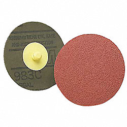 Locking Disc, CerAlO, 2in, 60Grit, TR, PK200