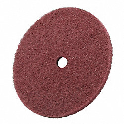 Arbor Mt Sanding Disc, 6x1/4in, VF, PK100