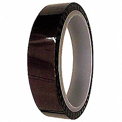 Electrical Tape, 1/4x36yd, 1mil, Amber, PK36