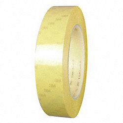 Film Tape, 3/8 In x 72 yd., Yellow, PK96