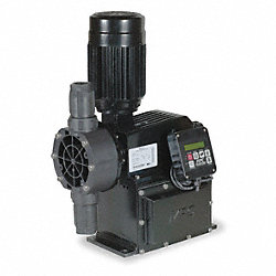 Diaphragm Metering Pump, 576 GPD, 150 PSI