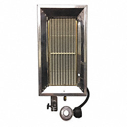 Portable Gas Heater, LP, 32000 BtuH