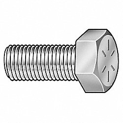 Hex Cap Screw, Stl, 7/16-20x1, PK 100
