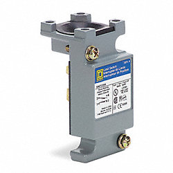 Limit Switch Body, 2NO, 2NC, 10A @ 600V